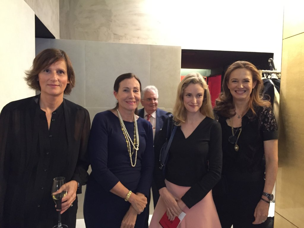 IFF perfumer Anne Flipo, Sentosphère founder Véronique Debroise, BW Confidential editor in chief Oonagh Phillips, CEW managing director Laurence Moulin