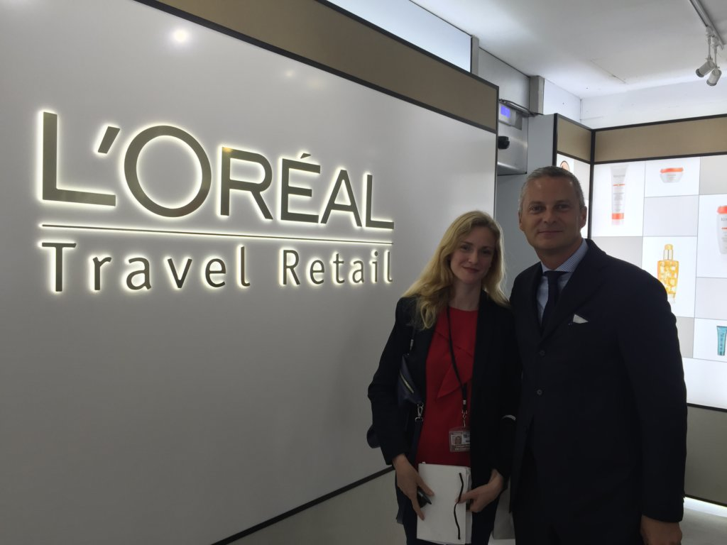 L'Oréal managing director travel retail Vincent Boinay